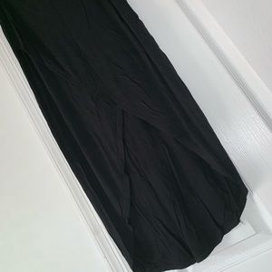 Black maxi wrap skirt!! Size XS